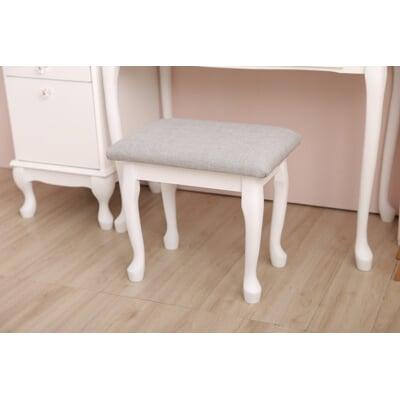 英式  Cherish 麻布化妝椅(兩色)