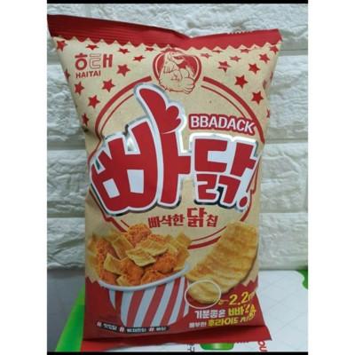 韓國進口香酥雞片餅乾炸雞餅乾
