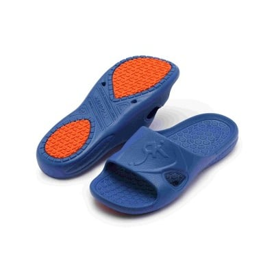 (e鞋院)KENROLL止滑家居拖鞋- 藍