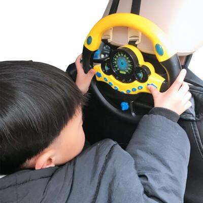 兒童模擬仿真音效方向盤 副駕駛方向盤 早教玩具-KCI9734