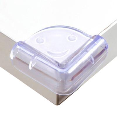 [20入裝]防撞角 兒童安全笑臉透明球型桌角防護-IP027