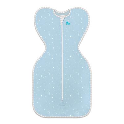 澳洲 專利蝶型包巾 Stage1 輕薄款睡袋-星空藍 (S/M)【佳兒園婦幼生活館】