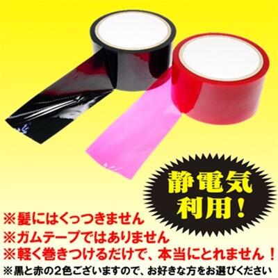 [漫朵拉]日本 Wins*ボンデージテープ 赤SM捆綁靜電膠帶 (紅)