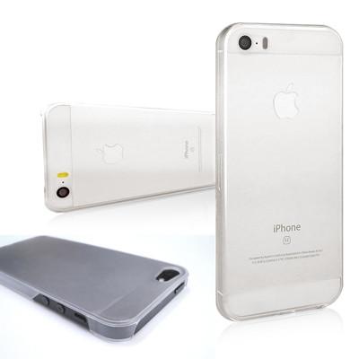 4吋 iPhone 5/5S/SE 磨砂霧面PC硬殼背蓋