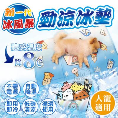 【微瑕疵】L號 / 新一代冰風暴 勁涼冰墊 極勁涼 冰墊 寵物冰墊 人寵冰墊 酷涼冰墊