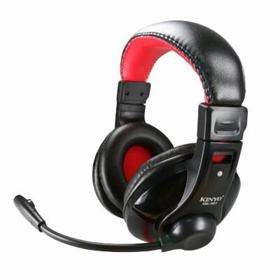 KINYO超重低音立體聲耳機麥克風EM-3651