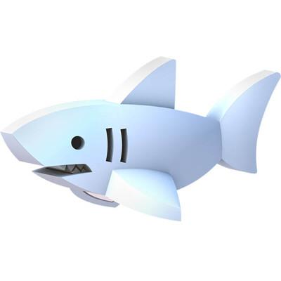 【HALFTOYS】3D海洋樂園:大白鯊(WHITE SHARK)STEAM教育玩具