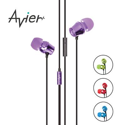 【Avier】炫彩糖果入耳式耳機 / 四色