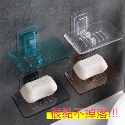 無痕貼仿水晶肥皂架