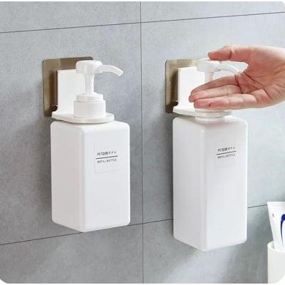 免釘無痕沐浴乳浴室掛架 洗手乳清潔劑魔力貼掛架