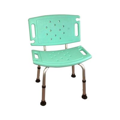 鋁合金洗澡椅 0013 沐浴椅 有靠背洗澡椅 可調高低 有靠洗澡椅