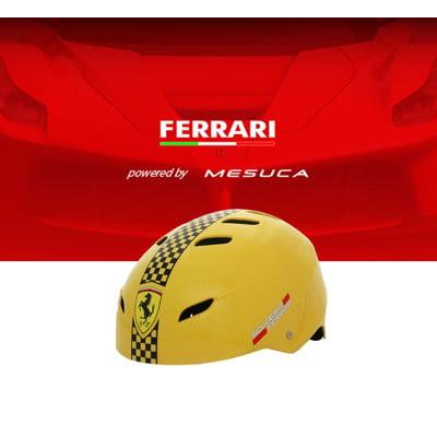 【 Ferrari 】 法拉利 - 直排輪頭盔/兒童安全帽