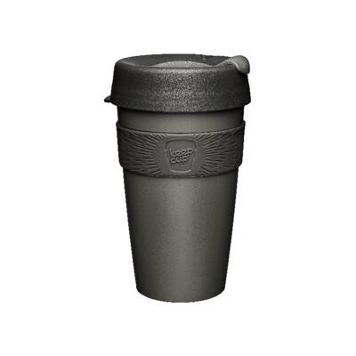 【小宅私物】澳洲 keepcup 隨身咖啡杯 L (鎧甲銀) 咖啡杯 隨行杯 環保杯