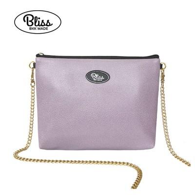 泰國 Bliss BKK包 素色紫 可肩背 可手拿 泰國必買 現貨供應中