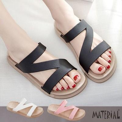 拖鞋 簡約女款防水拖鞋 C1025