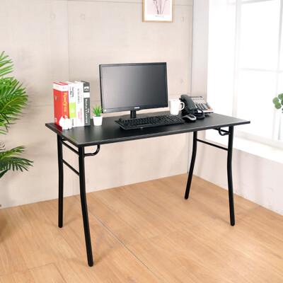 概念家居 極簡馬鞍皮工業風工作桌 辦公桌 餐桌 電腦桌 (長120x寬60x高74公分)  S60