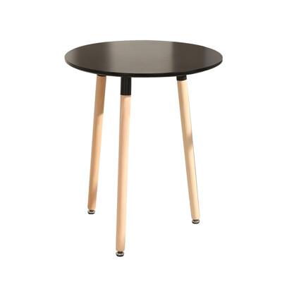 概念家居 北歐風 60*60CM圓桌  小圓桌 洽談桌 工作桌 書桌 休閒桌 洽談桌 實木桌 C60