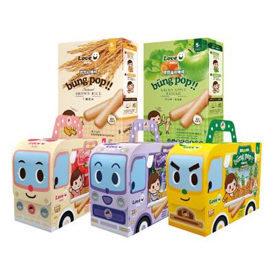 【米大師】寶寶棒棒全系列精選5入組-寶寶米餅