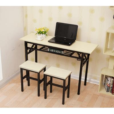 桌子 書桌 110*60*75CM 工作桌 辦公桌 折疊桌 長條桌子 會議桌 餐桌 課桌 電腦桌