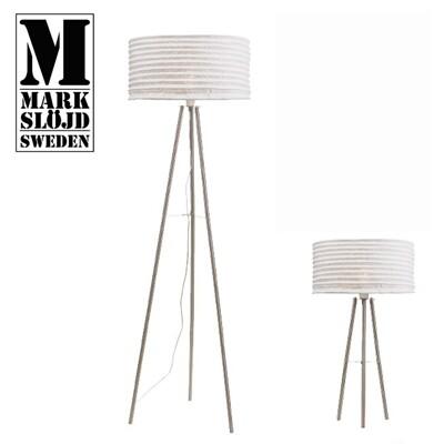 hoi! 【Markslojd】SKEPHULT 桌燈白色布三腳桌燈