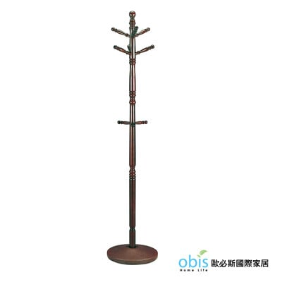 4S-630胡桃衣架(DIY自行組裝)(18CS3/279-8)