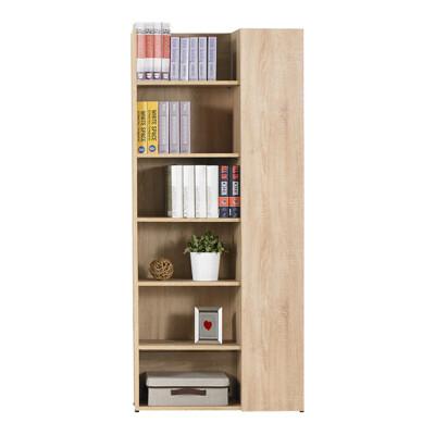 【obis】約翰2.7尺橡木紋單門開收書櫃