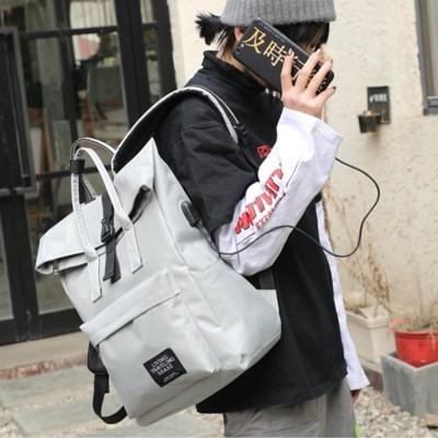 【簡單GO】外接USB充電後背包