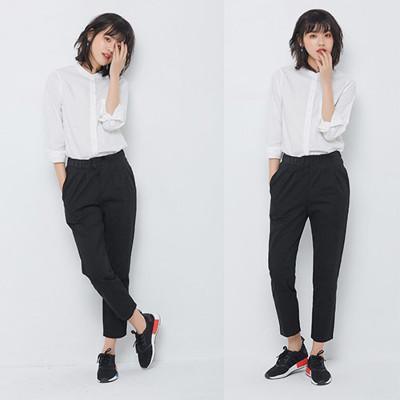 韓版經典百搭顯瘦哈倫褲