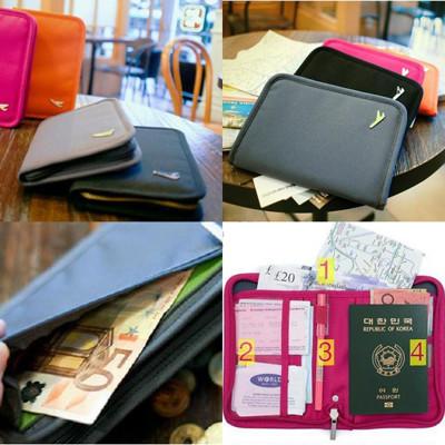 韓版 短款護照卡包 護照包 錢包  票夾