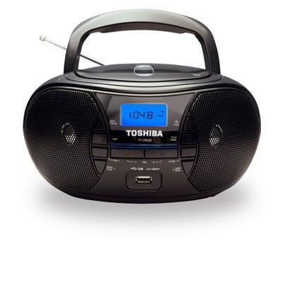 【TOSHIBA 東芝】  CD/MP3/USB手提音響 TY-CRU20