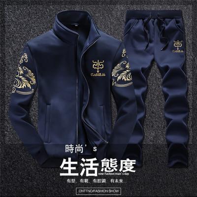 韓版修身顯瘦時尚長袖套裝