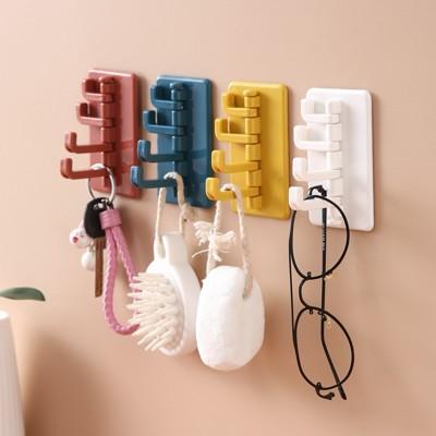 [效除小舖]四孔掛勾超方便 可黏好安裝 北歐風 浴室 廚房掛勾