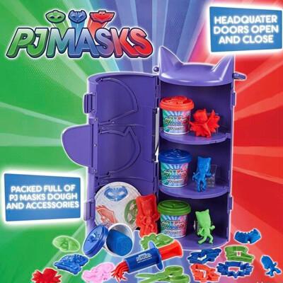 【睡衣小英雄 PJmasks】小英雄基地黏土組 PJ06749