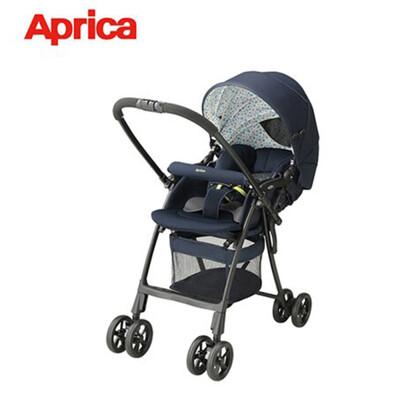 【Aprica 愛普力卡】輕量雙向嬰幼兒手推車 (星空藍) 92568