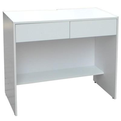北歐風 高級 木芯板 雙抽 辦公 電腦 書桌 辦公桌 (106*45*75)