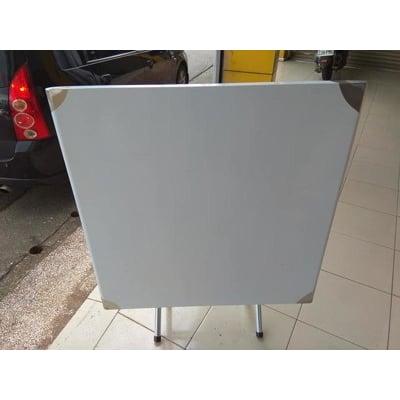 白鐵桌3*3 辦桌 供桌 餐桌 拜拜桌  (90*90cm 高:75cm)